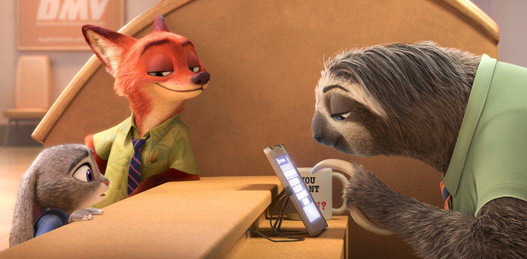 動物方城市獲得奧斯卡最佳動畫長片獎。圖/迪士尼提供