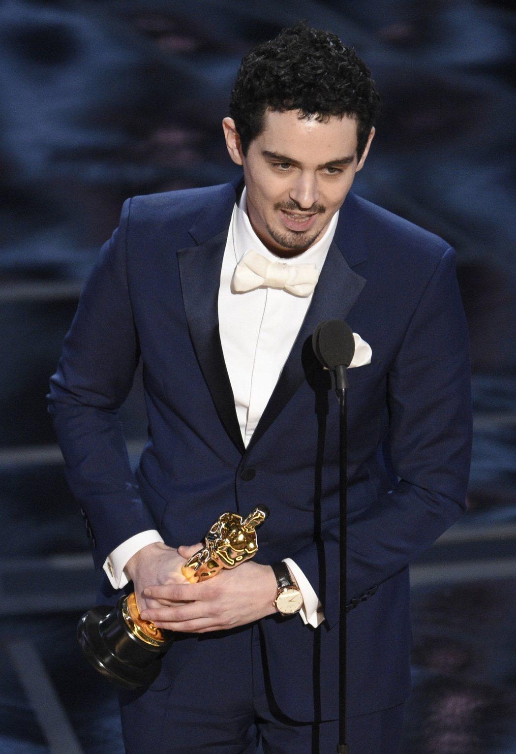 「樂來越愛你」Damien Chazelle獲得最佳導演。圖/美聯社
