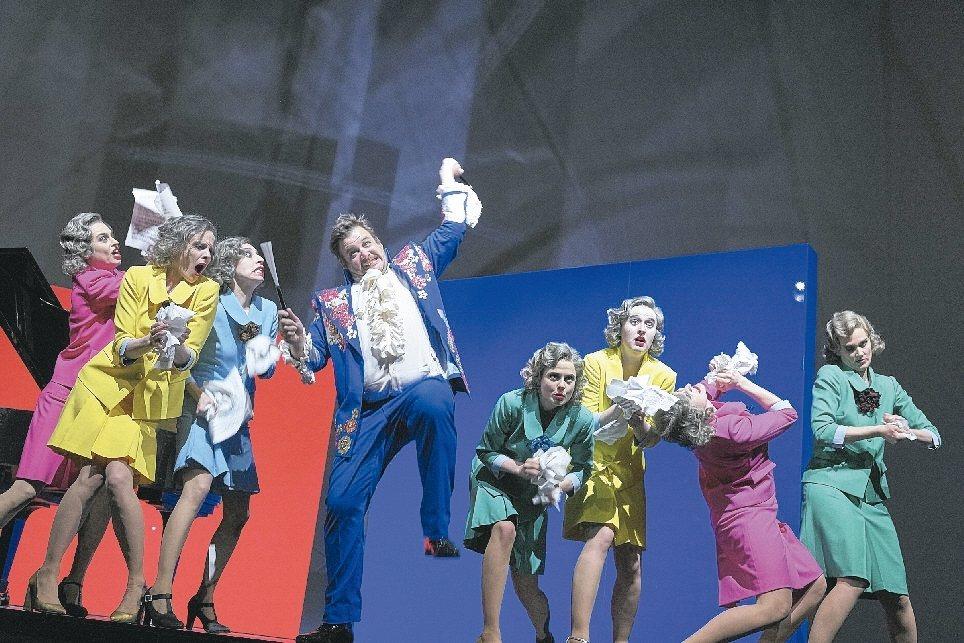 蘇黎世國家劇院《誰怕沃爾夫?》 兩廳院/提供