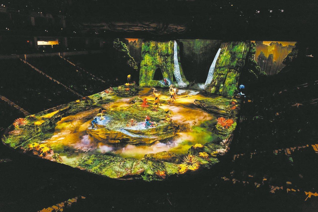 觀眾可如眾神般,俯視潘朵拉星球的生死浩劫。 圖/聯合數位文創提供