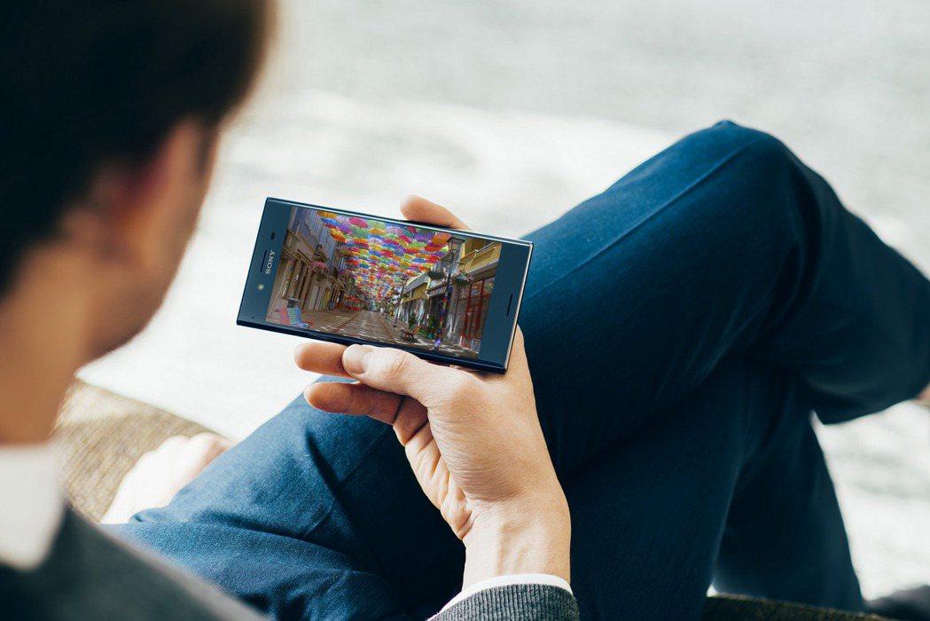 Xperia XZ Premium。圖/Sony Mobile提供