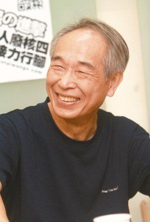 2013年,李喬參與廢核活動。 圖/本報資料照片