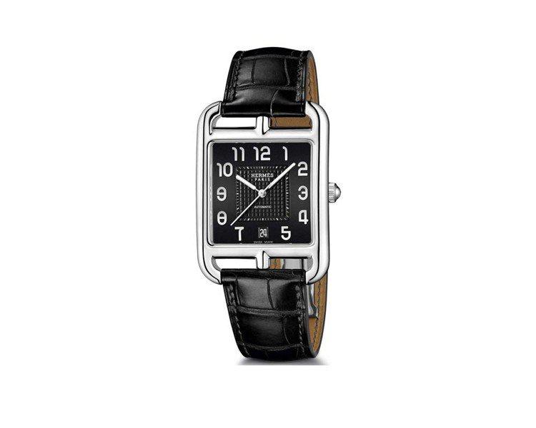 Cape Cod腕表,精鋼表殼,自動上鍊機芯,價格電洽。圖/愛馬仕提供