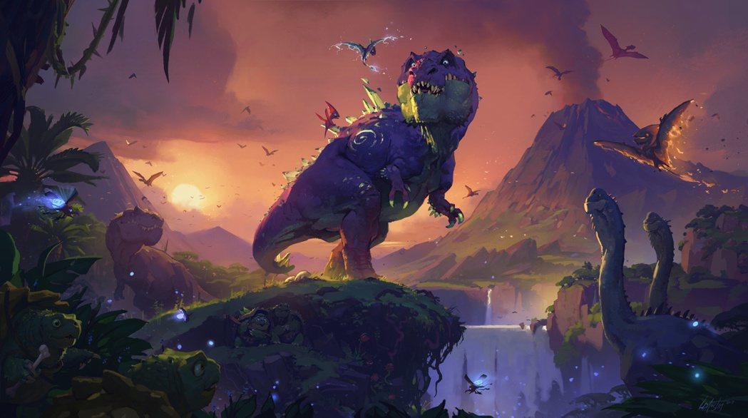 在安戈洛的蠻荒天地之中,掠食動物彼此爭鬥,很難想像會有哪一種動物能獨霸此地。
