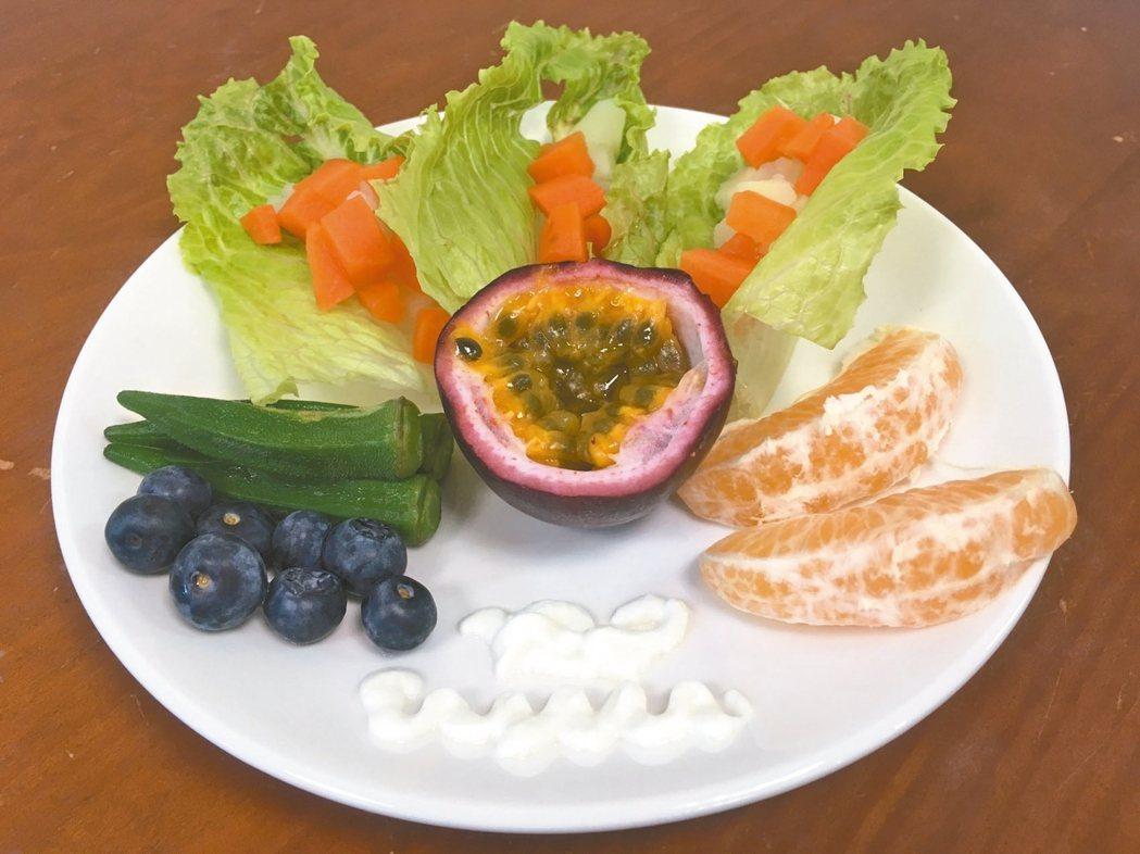 蔬果中所含的植化素可增強免疫力,減緩癌症細胞增生,保護細胞免於自由基傷害。 圖/...