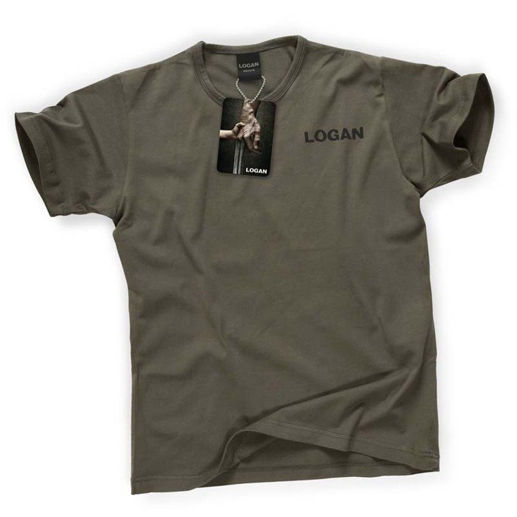 電影羅根限量T恤。圖/OK超商提供