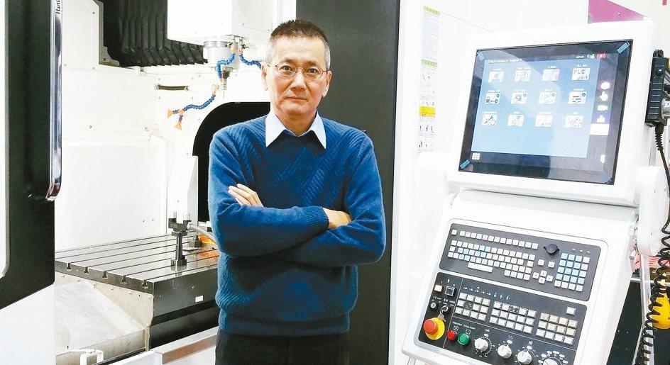 協鴻工業總經理葉新華。(聯合報系資料照片) 戴辰/攝影