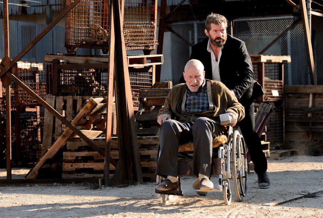 好萊塢影星休傑克曼(Huge Jackman)(後)「金鋼狼」畢業作「羅根」2月