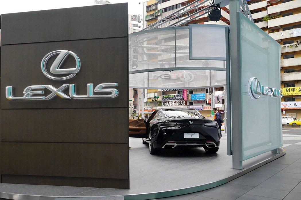 預見LC–LEXUS品牌體驗館。 記者陳威任/攝影
