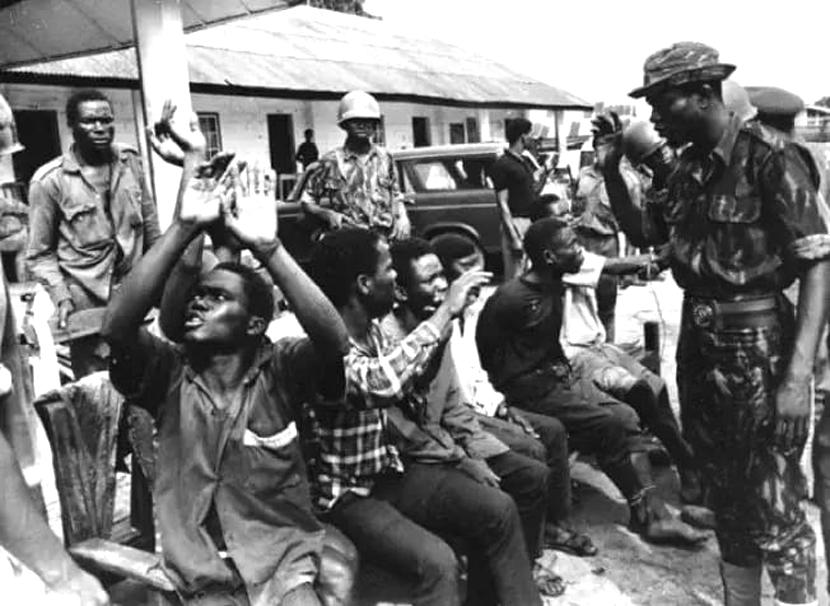 奈及利亞進入為期三年的內戰,最終奈及利亞兵擊敗比亞法拉軍隊,比亞法拉政權宣布投降...