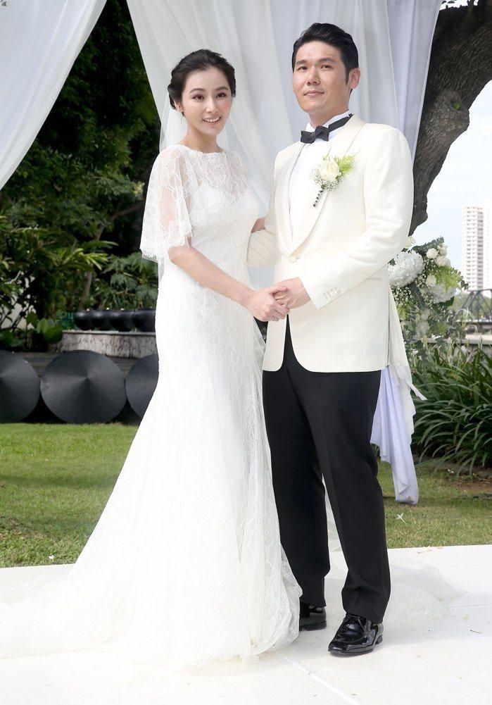 陳怡蓉(左)坦言婚前與老公免不了口角。圖/本報資料照