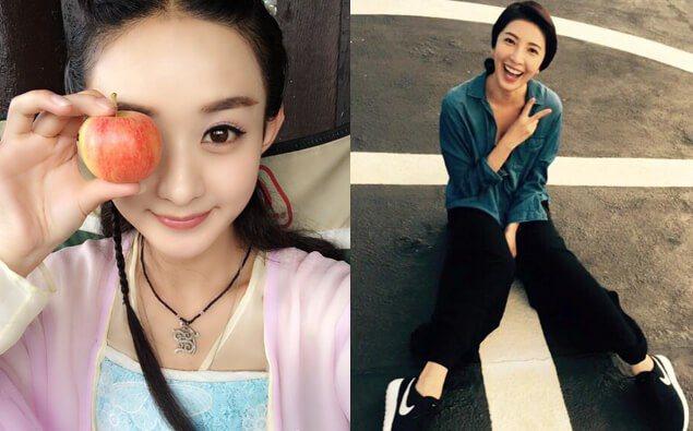 圖/ 趙麗穎微博、楊謹華臉書,Beauty美人圈提供