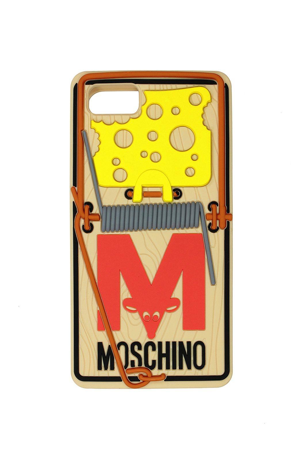 老鼠夾造型手機殼,2,800元。圖/MOSCHINO提供