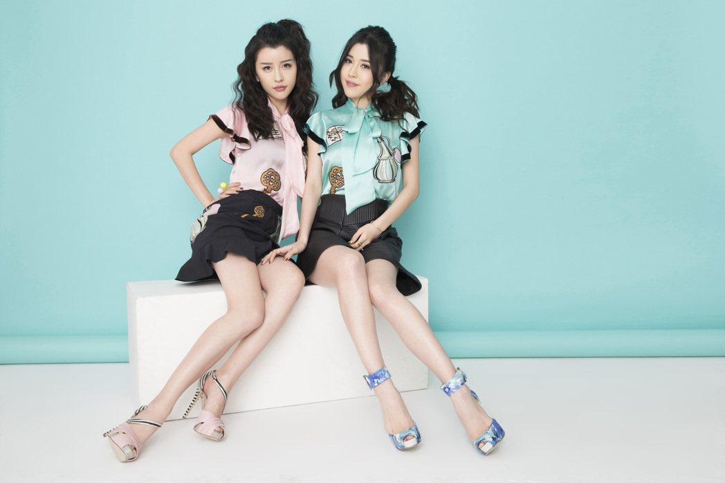 By2洗腦神曲「愛又愛」MV,自創愛愛舞。圖/海蝶提供