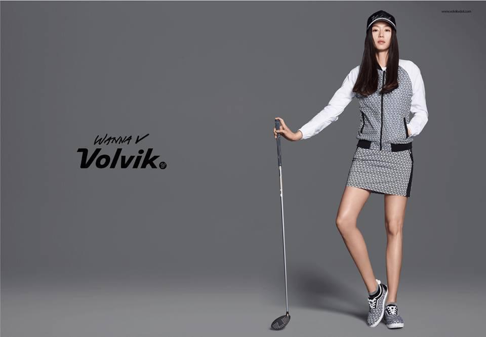 全智賢最新廣告中一雙細腿讓粉絲擔心她是否過瘦。圖/摘自臉書