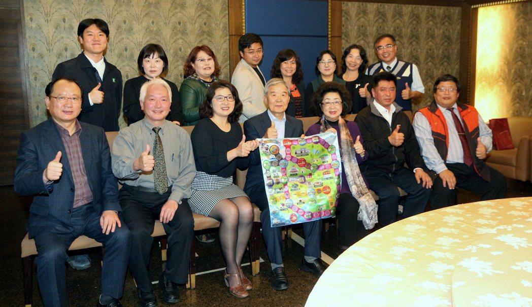 韓國濟州島人權參訪團一行人,拜訪人權城市高雄。記者徐如宜/攝影