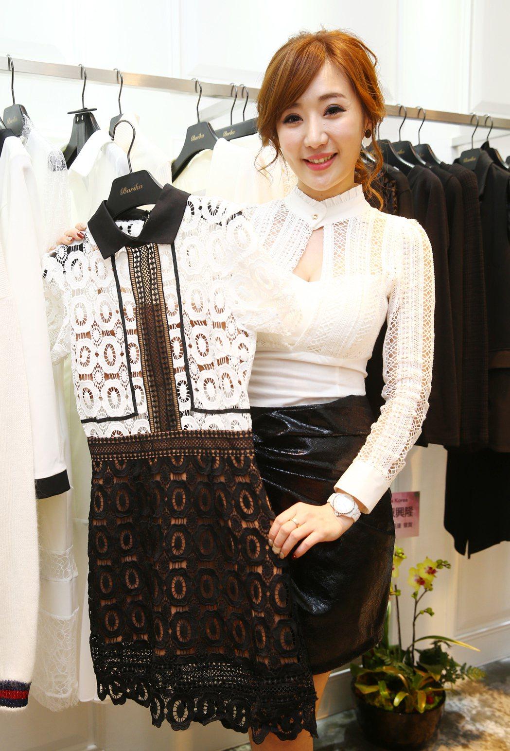 八點檔女星羅巧倫一圓創業夢,籌備多時的韓國精選服飾品牌Barika,正式開幕。記...