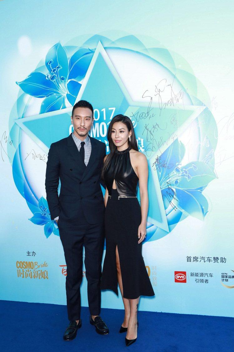 王陽明多次穿著Ermenegildo Zegna出席活動,可見對品牌的鍾愛程度。...