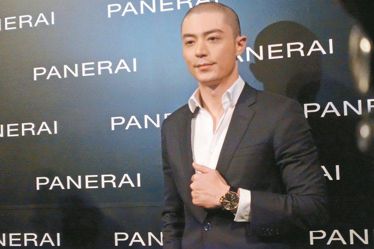 霍建華成為沛納海有史以來的首位品牌大中華區代言人。 圖/記者曾智緯攝影