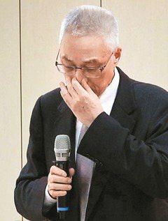 2000年拒任宋楚瑜副手 吳敦義談愛黨哽咽