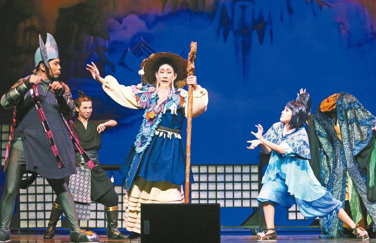 風神寶寶兒童劇團再推出新作「晴空小侍郎」,結合歌仔戲、雜技、歌舞、現代劇場及3D...