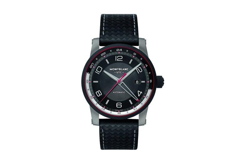 萬寶龍TimeWalker時光行者系列兩地時間表,12萬3,500元。圖/萬寶龍...