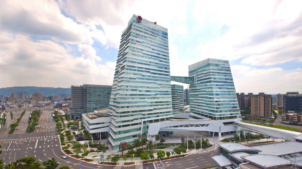 圖為中信南港金融園區。 報系資料照