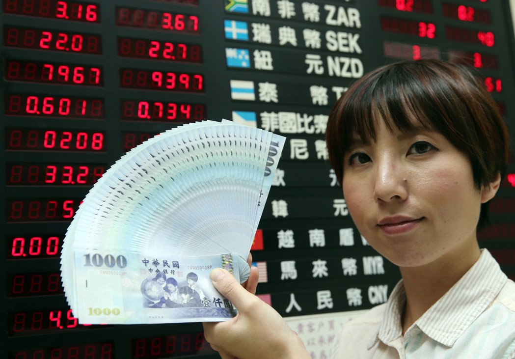台幣開盤連五升至二年半來最高 韓元也升03-21 09:18461