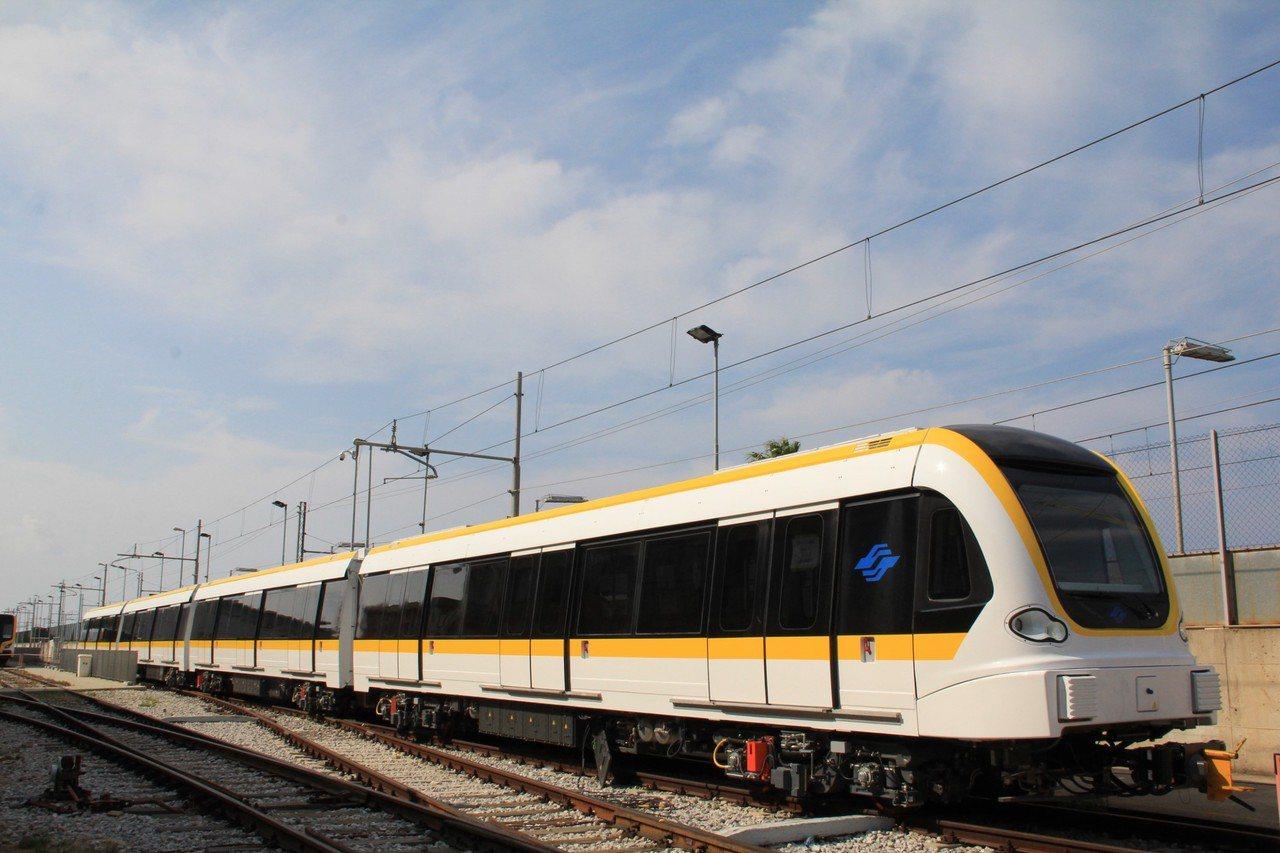 捷運環狀線。 圖/新北市捷運工程局提供