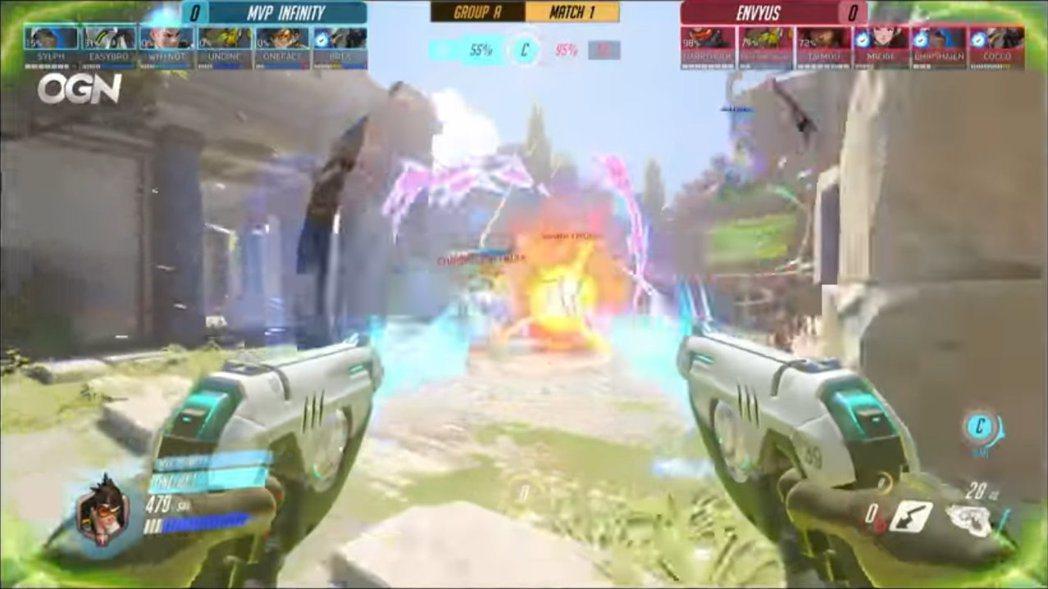 閃光與札莉雅的大絕combo,在APEX比賽中經常出現。 圖/截自賽事VOD