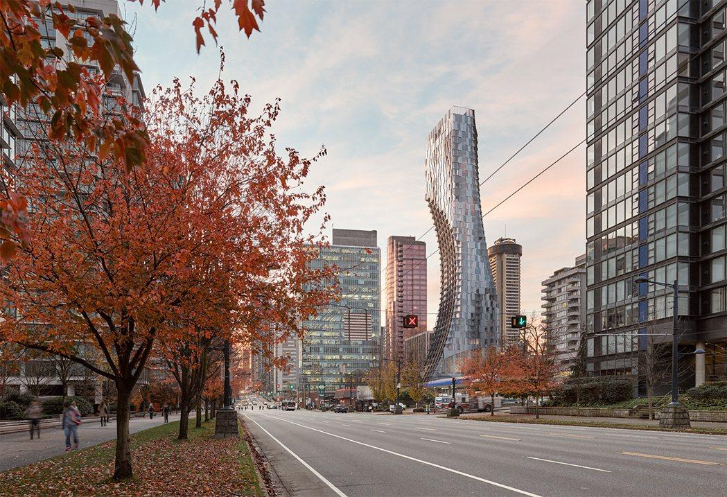 Alberni by Kengo Kuma 位於溫哥華市中心,展現現代藝術設計風...