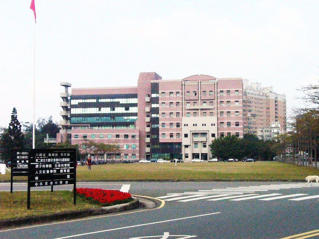 清大校園景觀。資料照片
