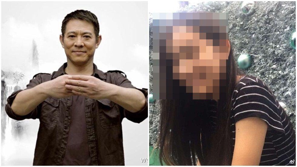 李連杰極愛女兒,也常帶女兒一起做慈善活動。圖/取自於微博