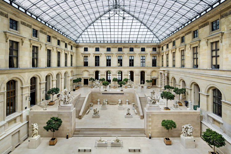 LV的大秀將於羅浮宮馬利中庭舉行。圖/LOUIS VUITTON提供