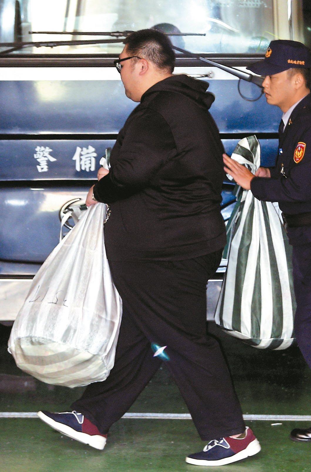 朱家龍勒戒期滿,台北地院裁定羈押。 聯合報系資料照片/記者蘇健忠攝影