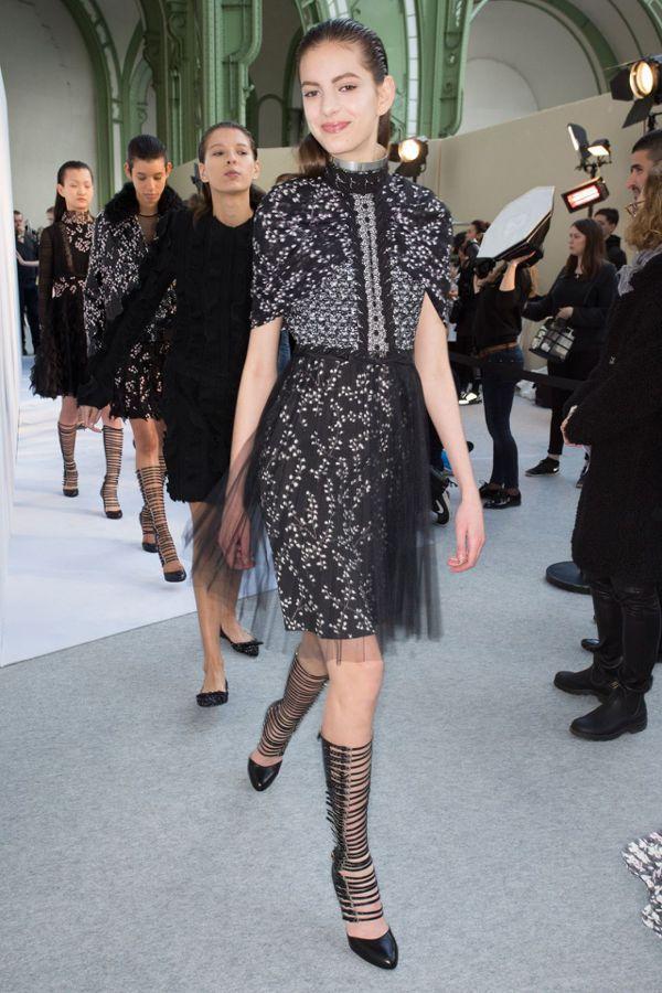 時尚界有人主張,讓未成年模特兒受到更多保護。 圖/Vogue 雜誌提供