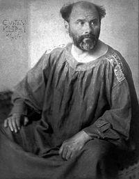 1862生於維也納的克林姆,是奧地利知名象徵主義畫家,他創辦了維也納分離派,畫作...