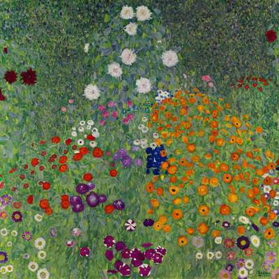 奧地利畫家古斯塔夫·克林姆(Gustav Klimt)在藝術巔峰時期創作的畫作「...
