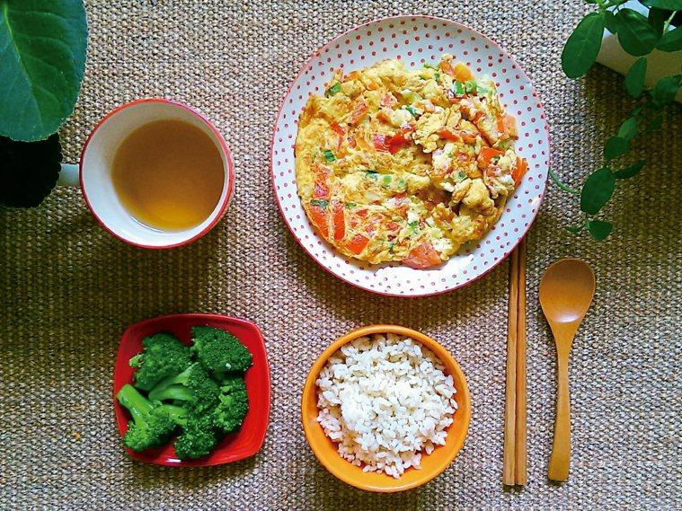 番茄蔥花蛋 圖/Jasmin