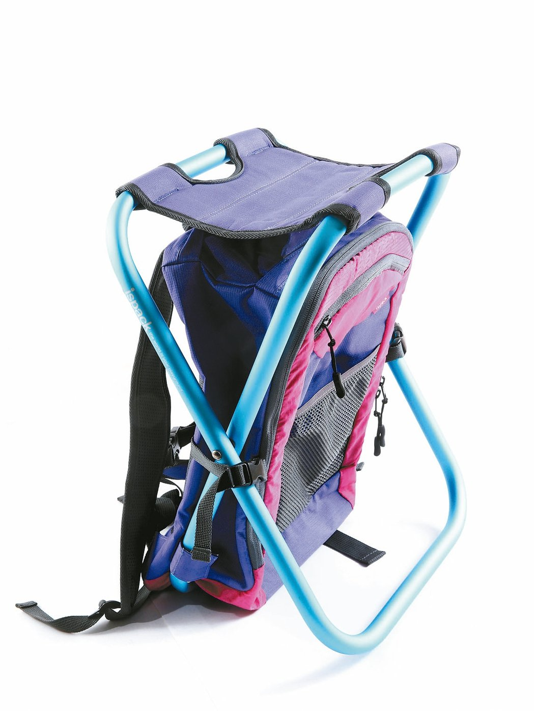 1380g輕量化背包椅。獨特的「隨背隨坐」設計,背到哪坐到哪,隨時可卸下成為一張...