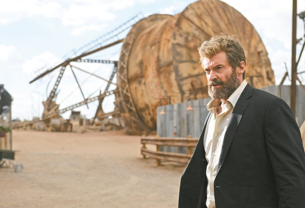 休傑克曼演出新片「羅根」叫好又叫座。 圖/福斯提供