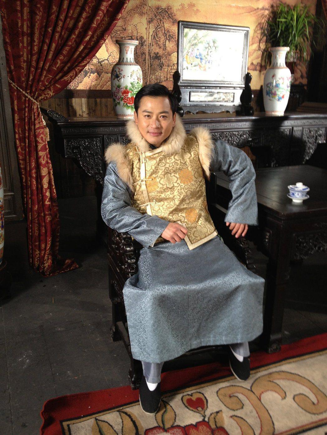 江宏恩在「如錦」中詮釋反派角色。圖/艾迪昇提供