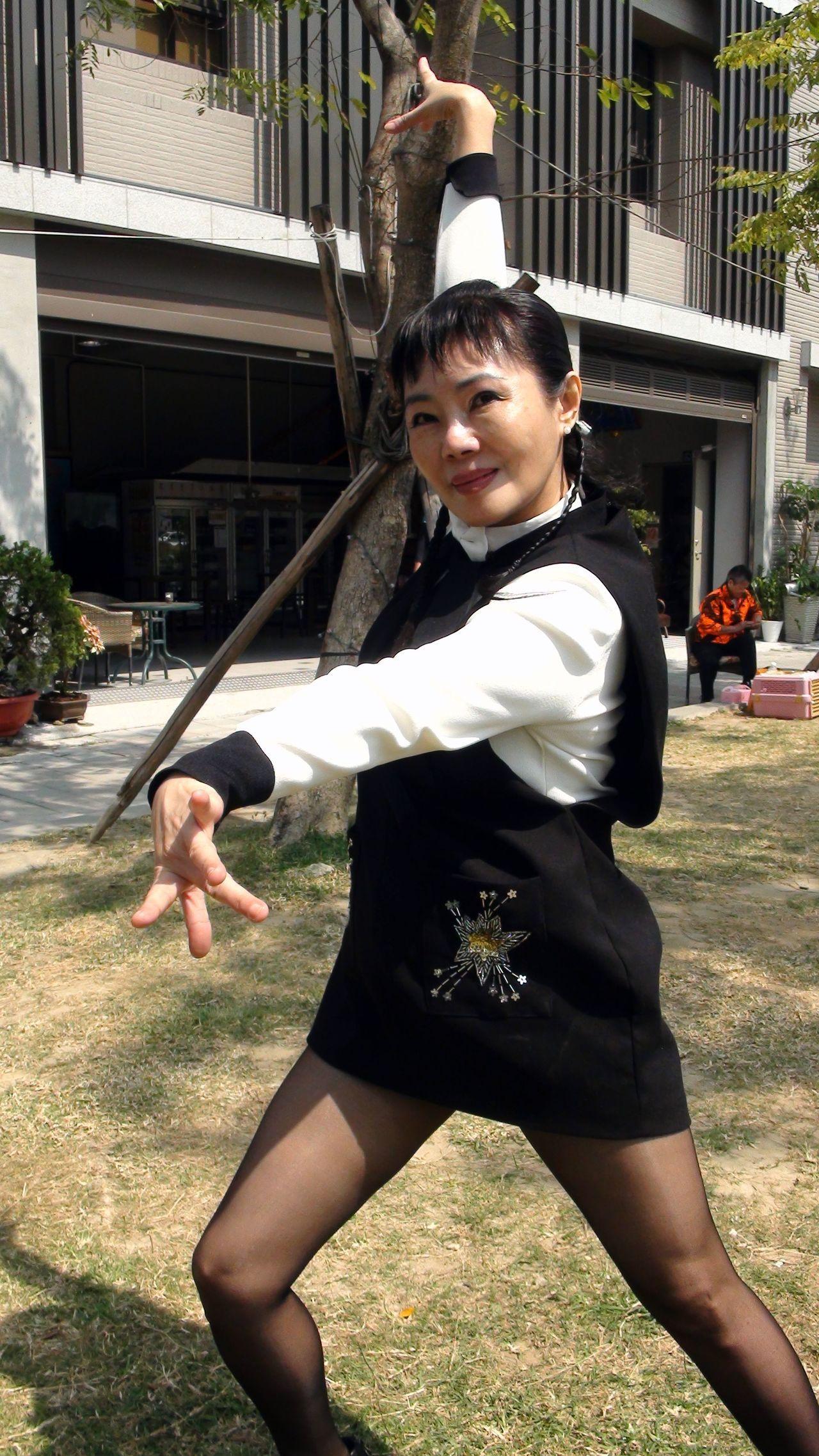 迴旋夢裡的女人許曉丹,如今的身分是畫家。記者王昭月/攝影