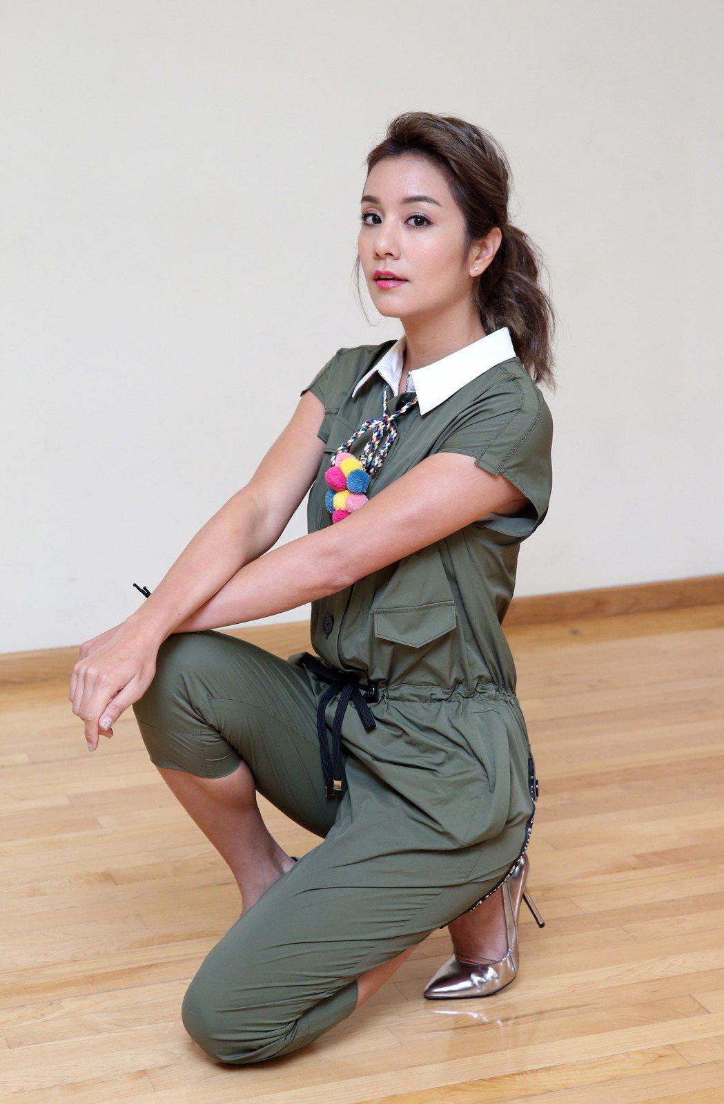 莎莎接受本報專訪談過往。記者陳瑞源/攝影