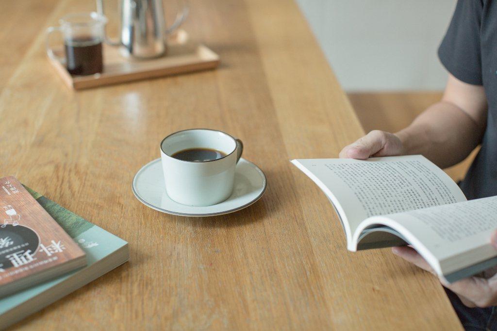 Café MUJI提供店內閱覽服務。圖/無印良品提供