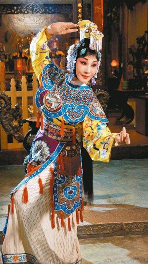 「霸王別姬」是梅蘭芳代表作之一,圖為魏海敏的虞姬扮相。 圖/魏海敏提供