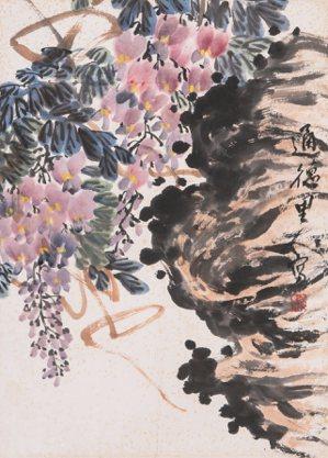 畫家張伯儒畫作。 姜志民/提供