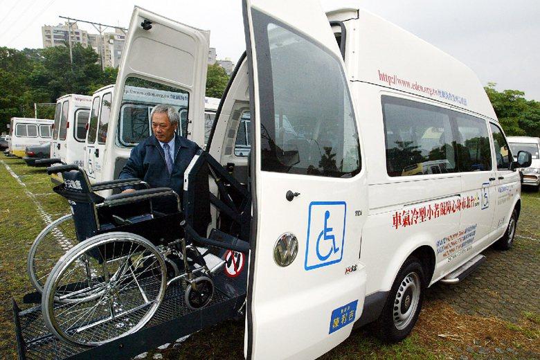 圖為伊甸基金會復康巴士。 圖/本報系資料照