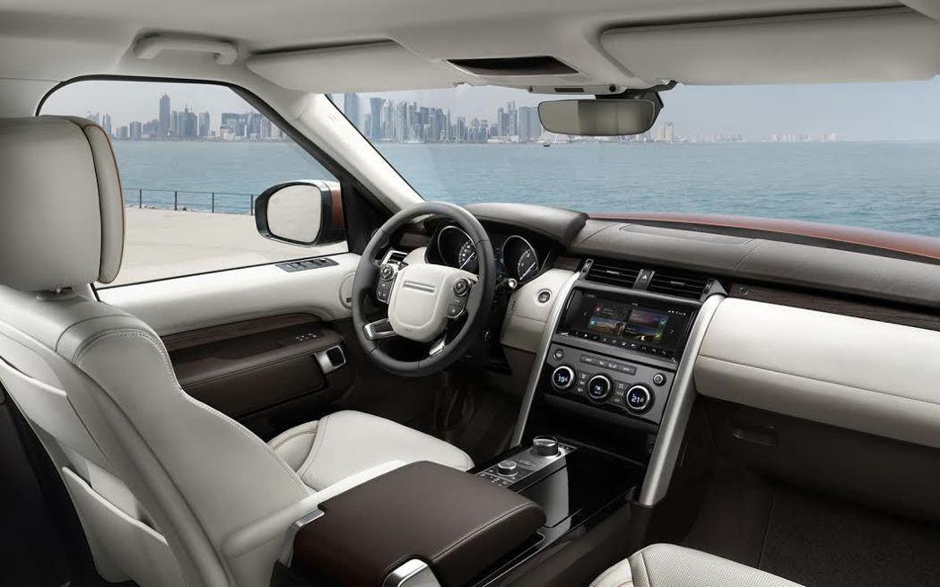 新世代Discovery內裝設計。 Jaguar Land Rover提供