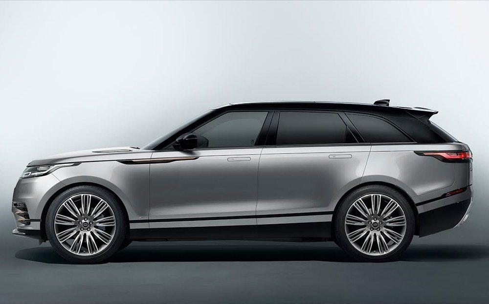 Range Rover Velar。 Jaguar Land Rover提供